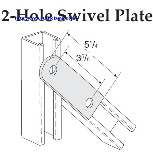 2-Hole Swivel Plate